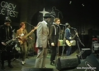 The Specials performing live on The Old Grey Whistle Test on 02/10/79