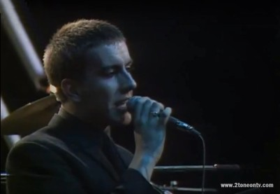 Terry Hall The Specials Live Belgium 1979