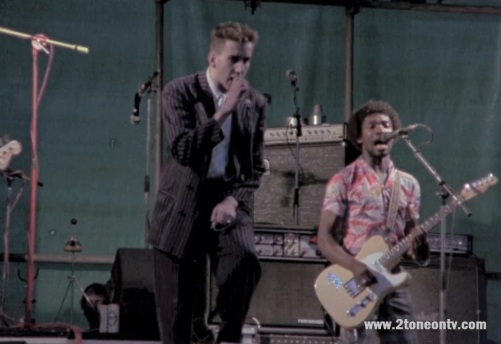 The Special live Butts Stadium, Coventry 1981