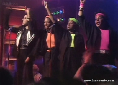 The Special AKA ft. Afrodiziak on Top of the Pops 1984